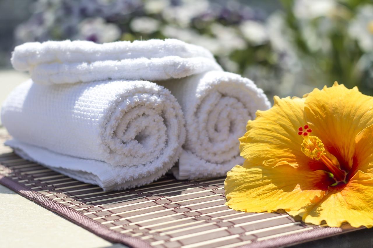 Komplet ręczników na prezent – ręcznik bambusowy