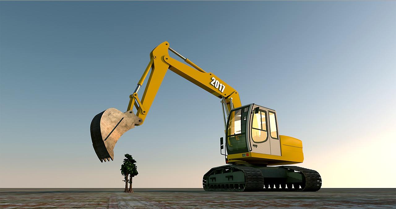 Maszyny budowlane – popularne usługi